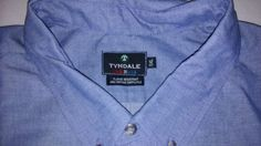 #TYNDALE #FR WORK SHIRT #FLAMERESISTANT MADE IN #USA #5XL Chambray Button Down BLUE in Clothing, Shoes & Accessories, Men's Clothing, Casual Shirts | eBay