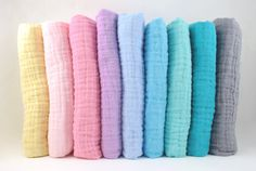6e45f731be4 Double Gauze Swaddle Fabric - Embrace Double Gauze Fabric in Solid Colors -  muslin fabric by