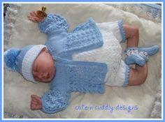 KNITTING PATTERN TO MAKE FOR BABY//REBORN BOY 0-3 MONTHS Jack Horner