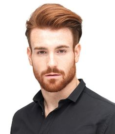 Ginger hair // #Hairstyle #Haircut  #Men // Browse @damee1's boards for more style inspiration [https://www.pinterest.com/damee1/hairstyle/]