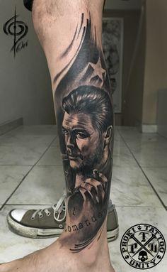 che guevara ,tattoo .