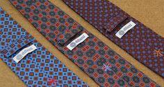 Shibumi Berlin Madder Ties Rich and vibrant colors, beautifully sharp prints: real ancient madder.