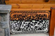 Spice up your balcony with custom #railing #art! #metal #balcony