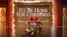 """""""I'll Be Home for Christmas"""" doesn't just have great stars, it also features, for the the first time ever on screen, the magnificent Christmas songs of Barbra Streisand! #movies #topmovies #gameofthrones #harrypotter #starwars #startrek #aliceinwonderland"""