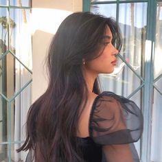 Cut My Hair, Hair Cuts, Hair Inspo, Hair Inspiration, Medium Hair Styles, Curly Hair Styles, Haircuts Straight Hair, Long Hair With Bangs, Long Layered Hair