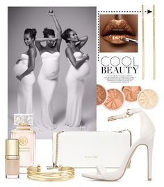 """""""White Party Maternity by Sew Trendy"""" by sewtrendy on Polyvore featuring Trina Turk, Tory Burch, Stella & Dot, Dolce&Gabbana and Elena Votsi"""