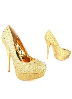 Gaudy shoes need to be paired with a simpler outfit. Like a simple black dress would look killer with these.