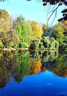 Poznan Poland, Park Sołacki [fot.Andrzej Woyda Ploszczyca]  http://www.trekearth.com/members/andrewoy/