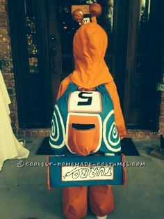DIY Child Halloween Costume: TURBO – the Fastest Snail in Clayton NC! ... This website is the Pinterest of costumes
