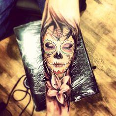 teschi messicani tattoo - Cerca con Google