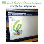 Count Down to Disney via Email Perfect for Teens and Grown Ups