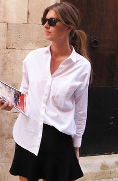 Black and white spring-summer style