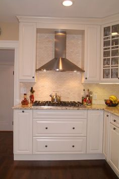 In the example shown here, a kitchen backsplash Barsoum installed, she used marble that comes in 12-by-12 sheets at about $15 per square foot. Because there's no pattern and the sheets are easy to work with, Barsoum says almost anyone can install these themselves.