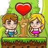 Jim Loves Mary - http://www.allgamesfree.com/jim-loves-mary/    This is a story about true love between Jim and Mary! Help them to meet each other on every of 20 fun levels. The game can be played by 2 players on one keyboard. A,W,D to move Jim Arrows to move Mary R – restart