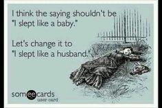 Like a husband