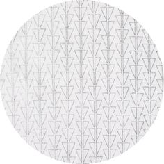 HALF YARD Kokka- Monochrome by Ellen Baker - Points in Silver Metallic on White - Double Gauze - Japanese Import Fabric by fabricsupply on Etsy