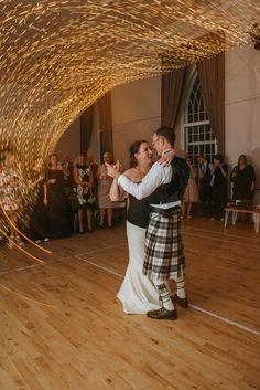 #shorttrain #firstdance #tweedweddingdress #cashmereweddingdress #woolweddingdress Photos by http://www.zoecampbellphotography.com/