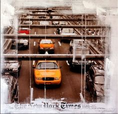 New York Traffic - Acrylic Oil Painting - Martin Klein - 249 Euro New York City, Apple Theme, Large Painting, Bronze Sculpture, Paintings For Sale, Art For Sale, Euro, Art Decor, Abstract Art