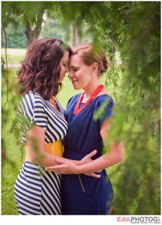 Lexington, KY Engagement Photography | Same Sex Engagement Photos | Lesbian Couple | Keeneland Racetrack | Elizabeth Ashley Photography