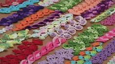 We will show you step-by-step how to crochet cords, ribbons and narrow ribbons