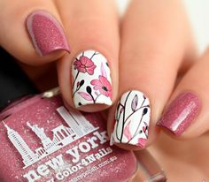 55 Stunning Nail Art & Designs 2016 - The Glamour Lady