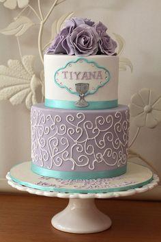 26 Ideas cupcakes fondant bautizo first communion Fondant Cupcakes, Cupcake Cakes, Comunion Cakes, First Holy Communion Cake, Religious Cakes, Confirmation Cakes, Themed Cakes, Party Cakes, Cake Decorating
