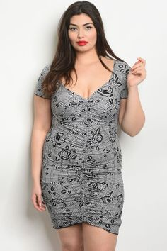 9ca836e8648 C30-a-4-d1434x white black plus size dress 2-2-2