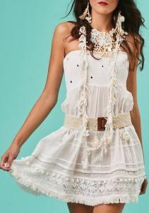 97e36744c36731 Antica Sartoria Positano dress Samantha white mini sundress with adjustable  straps. Shop Antica Sartoria by Giacomo Cinque online.