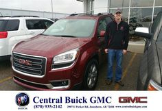 https://flic.kr/p/C1hUFa | Happy Anniversary to Dustin on your #GMC #Terrain from Hutch Hutchinson at Central Buick GMC! | deliverymaxx.com/DealerReviews.aspx?DealerCode=GHWO