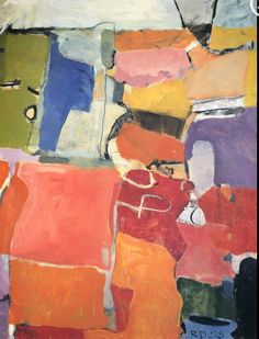 Richard Diebenkorn. Such gorgeous abstraction & color. Plus he's from the Bay Area, like me!