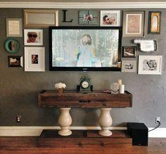 Living room TV Console...JLWoodworx.com Follow jlwoodworx on Instagram