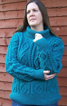 Made to  Order-Womens wool Knit Sweater-Womens by ScottishKnitwear