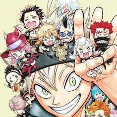 12 members of the Black Bulls (Black Clover) Clover 3, Black Clover Anime, Rebecca Black, Black Cover, Black Lagoon, Black Butler, My Black, Fairy Tail, Naruto