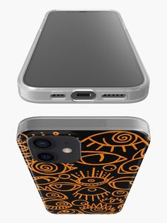 Spooky Eyes, Semi Transparent, Iphone Case Covers, Cover Design, Mini, Cover Art