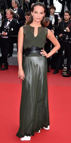 The Best of the 2015 Cannes Film Festival Red Carpet - Alicia Vikander from InStyle.com