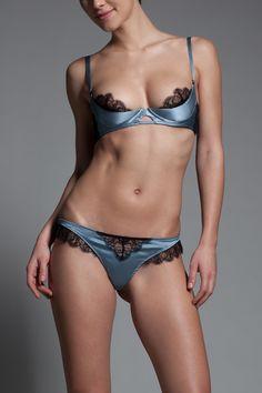 Lace Inset Thong | Lace Inset | By Collection | Lingerie | Kiki de Montparnasse
