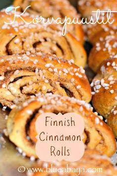 Korvapuustit-Finnish cinnamon rolls recipe
