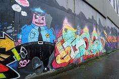 Street Art on Belfast Peace Wall