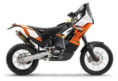 KTM's Dakar Rally racebike