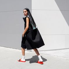 Currently living in these RAF x Adidas slides ...alealimay.com