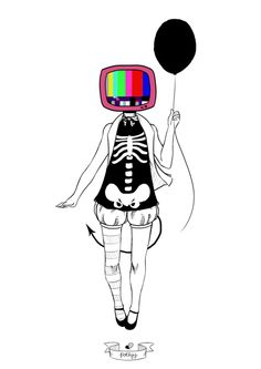 anime tv head - Google Search