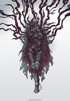 WoW: Warchief Sylvanas Windrunner by ryumo on DeviantArt Warcraft Art, World Of Warcraft, Dark Fantasy, Fantasy Art, Lady Sylvanas, Banshee Queen, Dnd Elves, Sylvanas Windrunner, Warcraft Characters