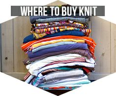 Best online knit fabric stores and sources