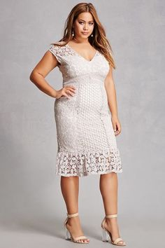 Forever21 Crochet Plus Size Dress