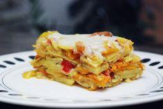 FOTORECEPT: Zapekaná hokkaido tekvica so zemiakmi, fotogaléria 1 / Lasagna, Squash, Macaroni And Cheese, Cooking Recipes, Ethnic Recipes, Fit, Hokkaido, Pumpkins, Mac And Cheese