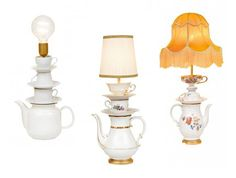 lamps... These remind me of Mrs. Potts and Chip @Meredith Dean @Brooke Fisher