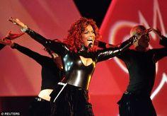 Janet Jackson 1998 AMAs  photo: Reuters