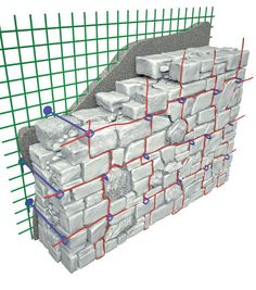Consolidamento murature - FIBRENET