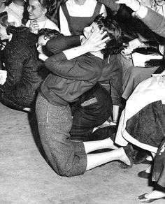 Fan at a Pat Boone concert, 1956.