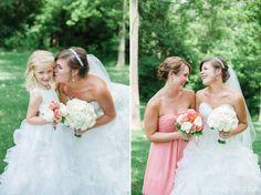 Coral Navy Summer Wedding. Cincinnati Wedding Photographer. Janne Photography. www.jannephoto.com